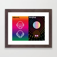 le rythme Framed Art Print