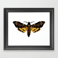 Death's-Head Hawkmoth Framed Art Print
