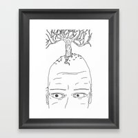 Your Mind Is The Foundat… Framed Art Print