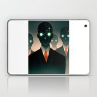 Laptop & iPad Skin featuring Microchip Mind Control by Lunacy