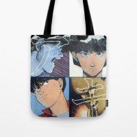 Akira: Pulped Fiction edition Tote Bag