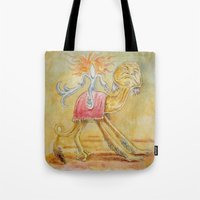 Atop my Desert Steed Tote Bag