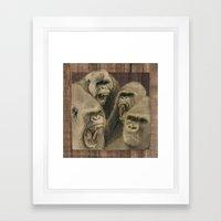 Simmer Down Framed Art Print