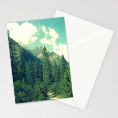 take the long way home Stationery Cards