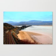 Barmouth Mid Wales Canvas Print