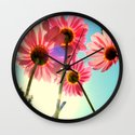 dancing in the sun Wall Clock