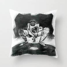 The Catcher: An Enigmatic Two Throw Pillow