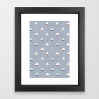 Yacht Framed Art Print