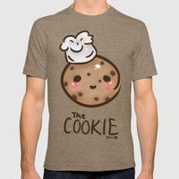 The 'Cook'ie Mens Fitted Tee Tri-Coffee SMALL