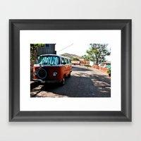 Bus Framed Art Print