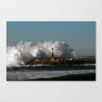 Blast Wave Canvas Print