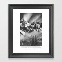 Atomic Flash Framed Art Print