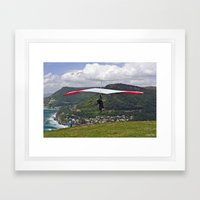 Flight for Two  Framed Art Print