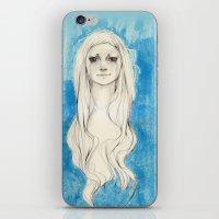 Long Hair iPhone & iPod Skin