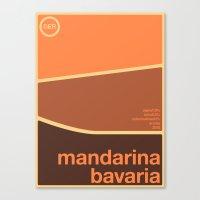 Mandarina Bavaria Single… Canvas Print