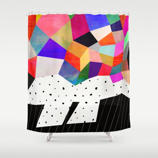 P3 Shower Curtain