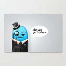 Serious Business Canvas Print