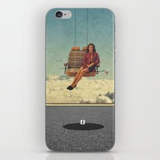 Up In The Air | Collage iPhone & iPod Skin