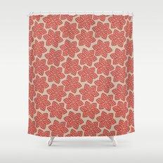 Bloom Pattern Shower Curtain