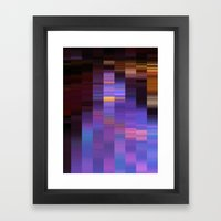 Pixelated  Framed Art Print