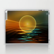 Setting Sun Laptop & iPad Skin