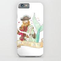 Valentine Mermaid and Pirate iPhone 6 Slim Case
