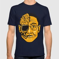 Gustavo Fring Mens Fitted Tee Navy SMALL