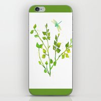 Dragonfly Three  iPhone & iPod Skin