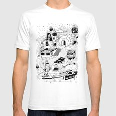EL TANQUE CARCEDO SMALL White Mens Fitted Tee