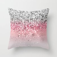 Spark Variations VII Throw Pillow