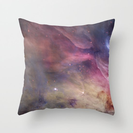 Gundam Retro Space 2 - No text Throw Pillow