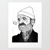 Team Zissou Art Print
