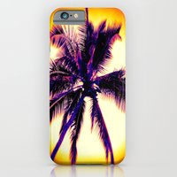 iPhone & iPod Case featuring Palm Tree by Soulmaytz