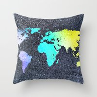 The World Belongs to you Throw Pillow