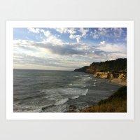 Oregon Coast 21 Art Print