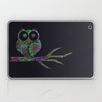 Owl On A Branch Laptop & iPad Skin