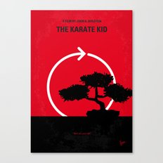 No125 My KARATE KID minimal movie poster Canvas Print