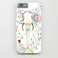 iPhone & iPod Case featuring Elephant / June by Belén Segarra