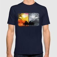 250/250 Days Of Summer..… Mens Fitted Tee Navy SMALL