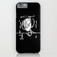 iPhone & iPod Case featuring Exist and Deceased by Damien Koh
