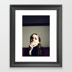 Untitled Portrait Framed Art Print