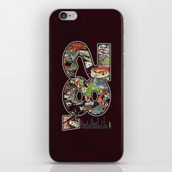 '82 iPhone & iPod Skin