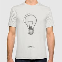 The Lord Works In Myster… Mens Fitted Tee Silver SMALL