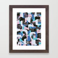 PatternM08 Framed Art Print