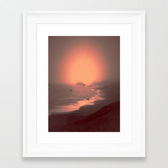 cali151 Framed Art Print