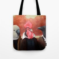 Three Distinguished Gentleman Tote Bag
