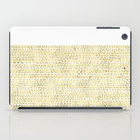 Riverside Gold iPad Case