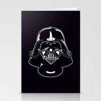V for Vader Stationery Cards