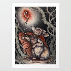 Courage Of The Heart  Art Print