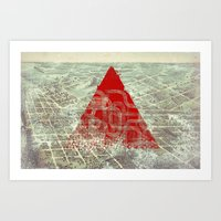 Rusty Future Art Print